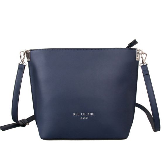 7ae307fe4c34 Navy Across Body Bag with Long Strap